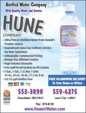 Menehune Water Company Inc