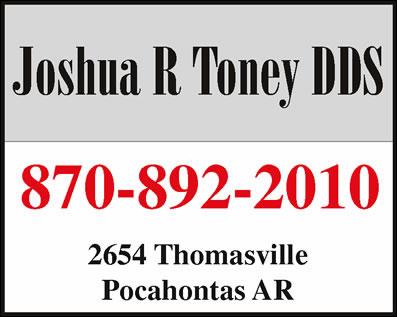 Toney Joshua R DDS