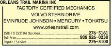 Orleans Trail Marina Inc