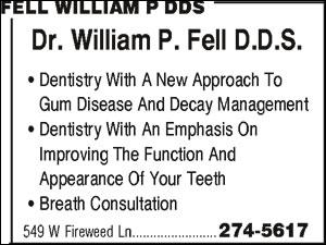 Fell William P DDS