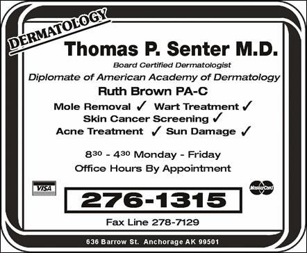 Senter Thomas MD