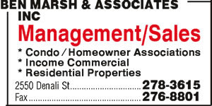 Ben Marsh & Associates Inc