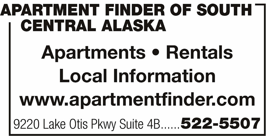 Apartment Finder Of South Central Alaska