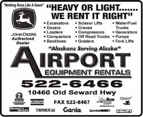 Airport Equipment Rentals