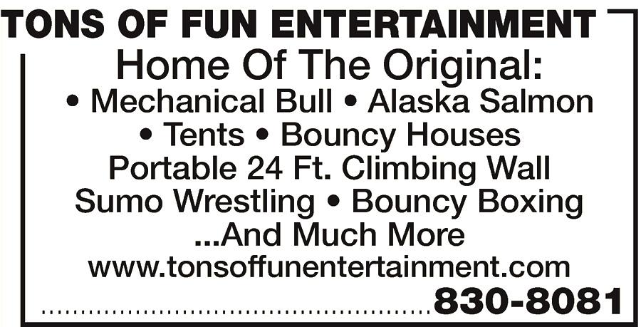 Tons of Fun Entertainment