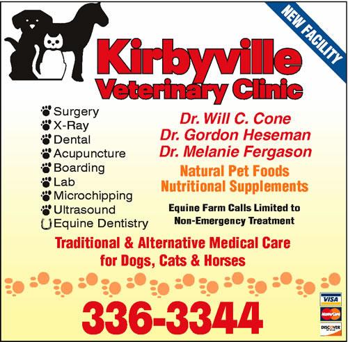 Kirbyville Veterinary Clinic