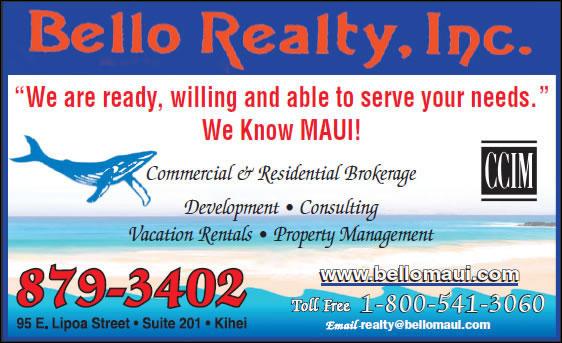 Bello Realty Inc