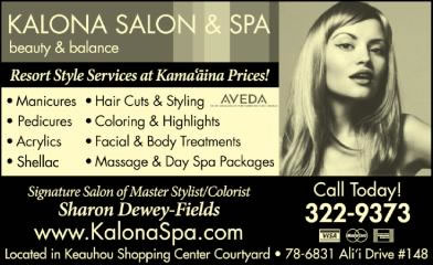 Kalona Salon And Spa