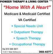 Pioneer Therapy & Living Center