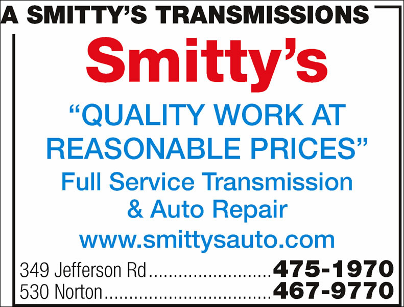 A Smitty's Transmissions