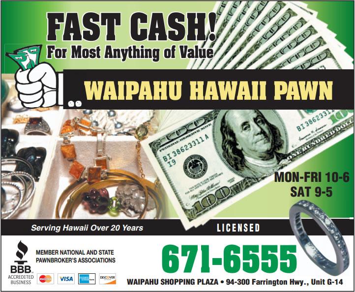 Waipahu-Hawaii Pawn