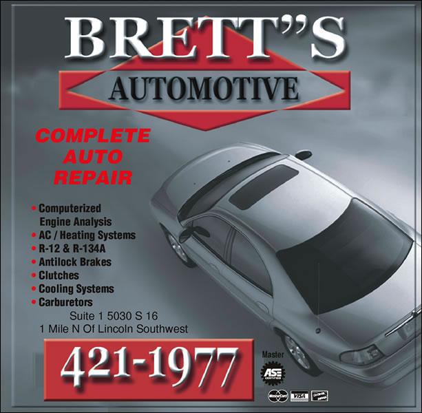 Brett's Automotive