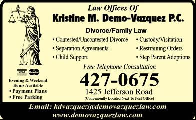 Demo-Vazquez Law Offices Of Kristine M PC