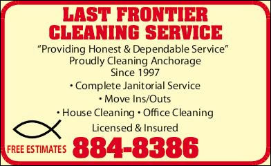 Last Frontier Cleaning Service
