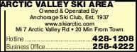 Arctic Valley Ski Area