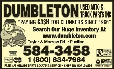 Dumbleton Used Auto Parts Inc
