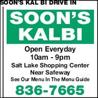 Soon's Kal Bi Drive In
