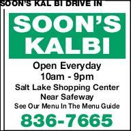 Soon's Kal Bi Drive In