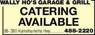 Wally Ho's Garage & Grill