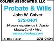 Colver John W