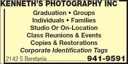 Kenneth's Photography Inc