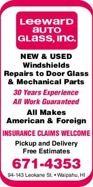 Leeward Auto Glass