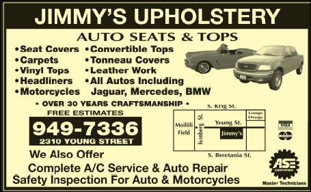 Jimmy's Upholstery