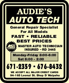 Audie's Auto Tech