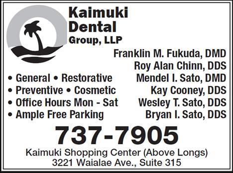 Kaimuki Dental Group LLP