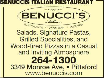 Benuccis Contemporary Italian Cuisine