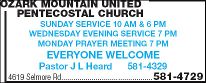 Ozark Mountain United Pentecostal Church