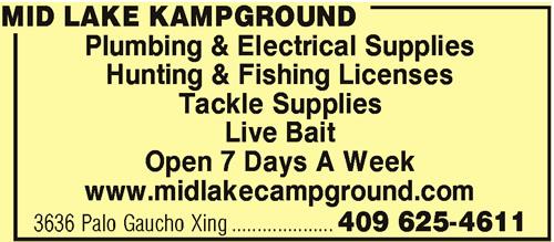 Mid Lake Kampground