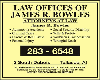 Law Offices Of James R Bowles III