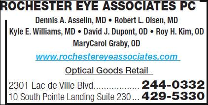 Rochester Eye Associates Pc
