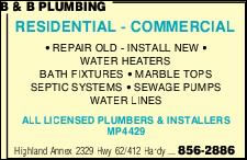 B & B Plumbing Heating