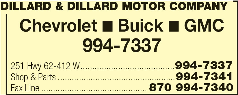 Dillard & Dillard Motor Company