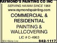 Raymond's Painting Co Inc