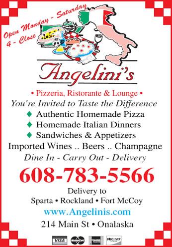 Angelini's Ristorante, Pizzeria & Lounge