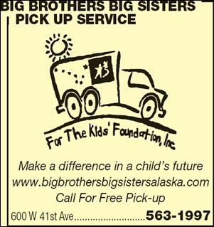 Big Brothers Big Sisters Pick Up Service
