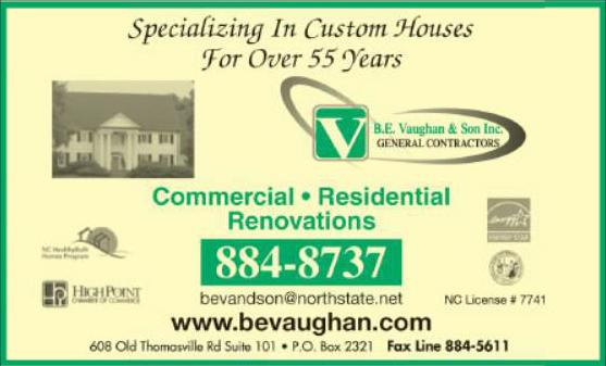 Vaughan B E & Son Inc