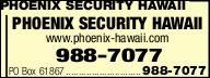 Phoenix Security Hawaii