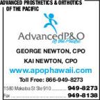 Advanced Prosthetics & Orthotics Of The Pacific