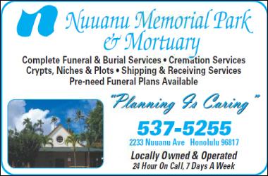 Nuuanu Memorial Park & Mortuary