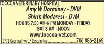 Toccoa Veterinary Hospital