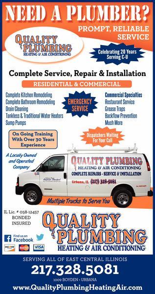 Quality Plumbing Heating & Air