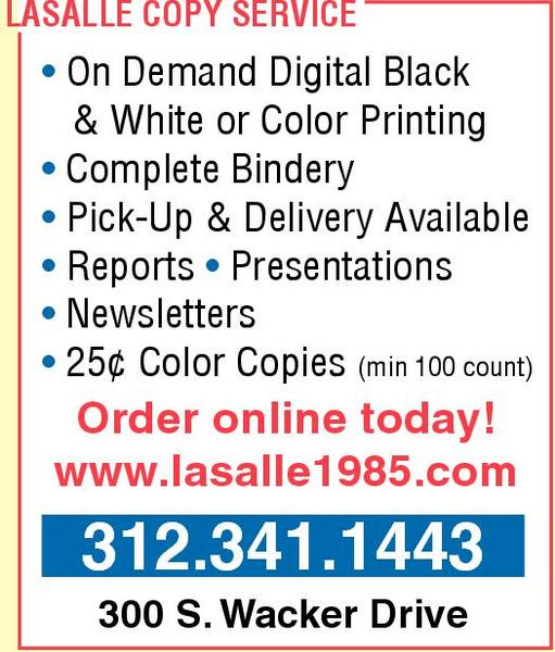 LaSalle Copy Service Inc