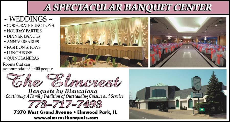 Elmcrest Banquets by Biancalana