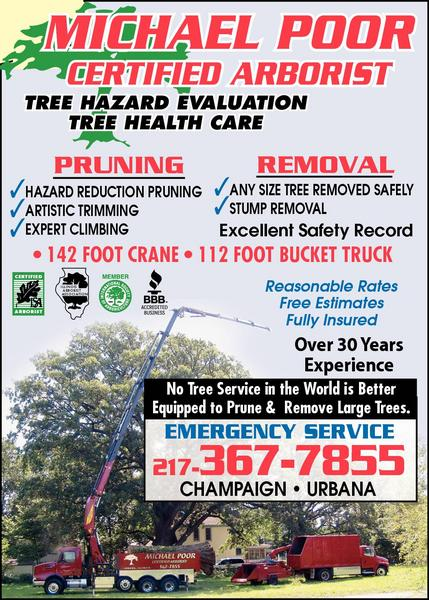 Michael Poor Certified Arborist