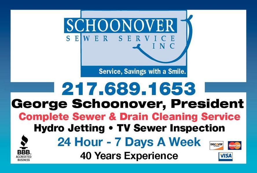 Schoonover Sewer Service