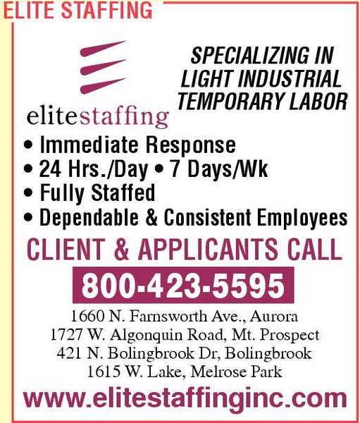 Elite Staffing Inc